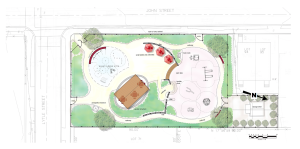 'Plan B' for redesign of Mary Moss Park. (click to expand)