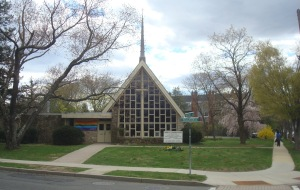 Christ's Congregation Church on Walnut Ave in Princeton. (click to expand)