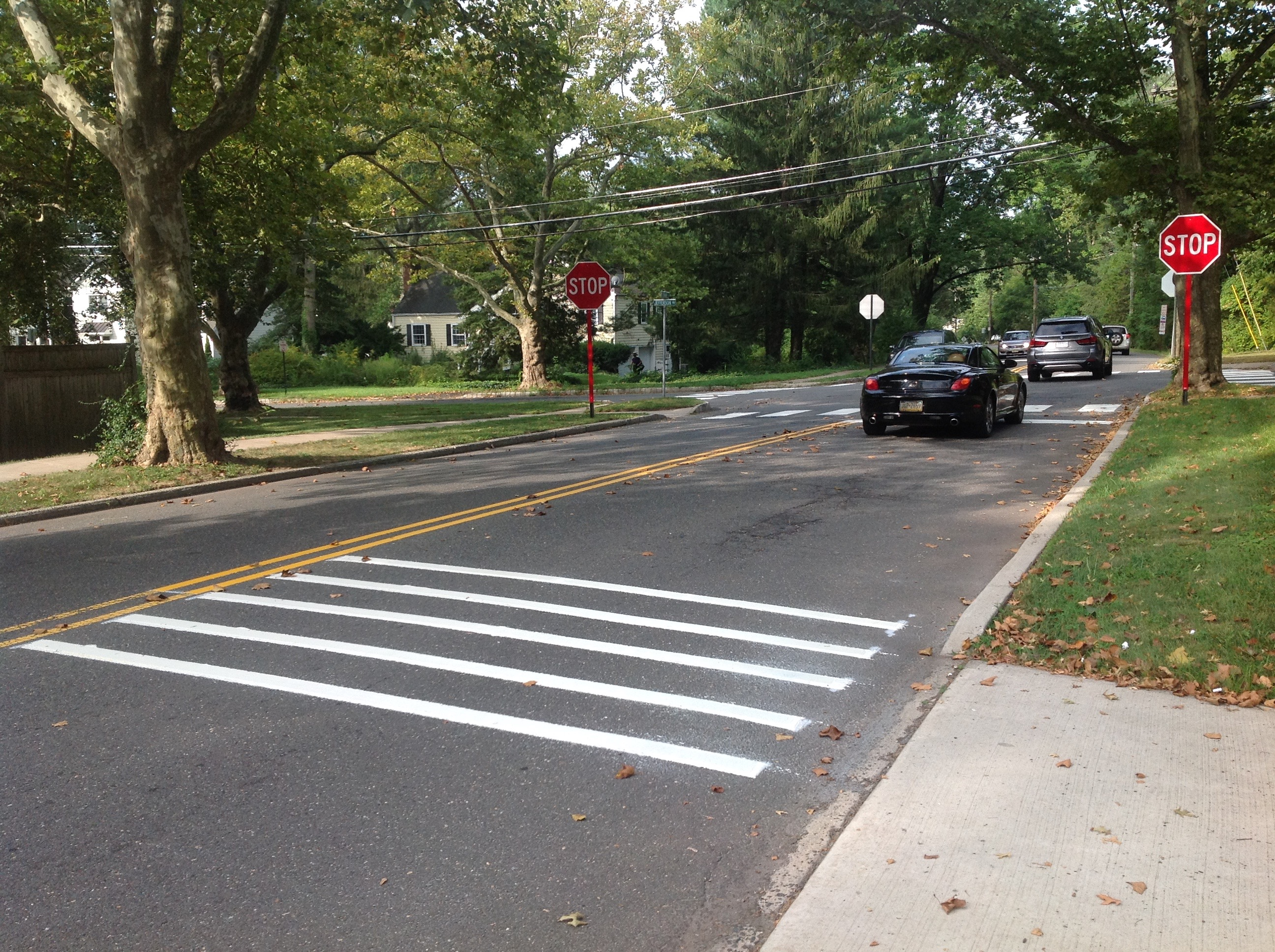 Princeton Traffic Calming Now Comes With Extra Rumble