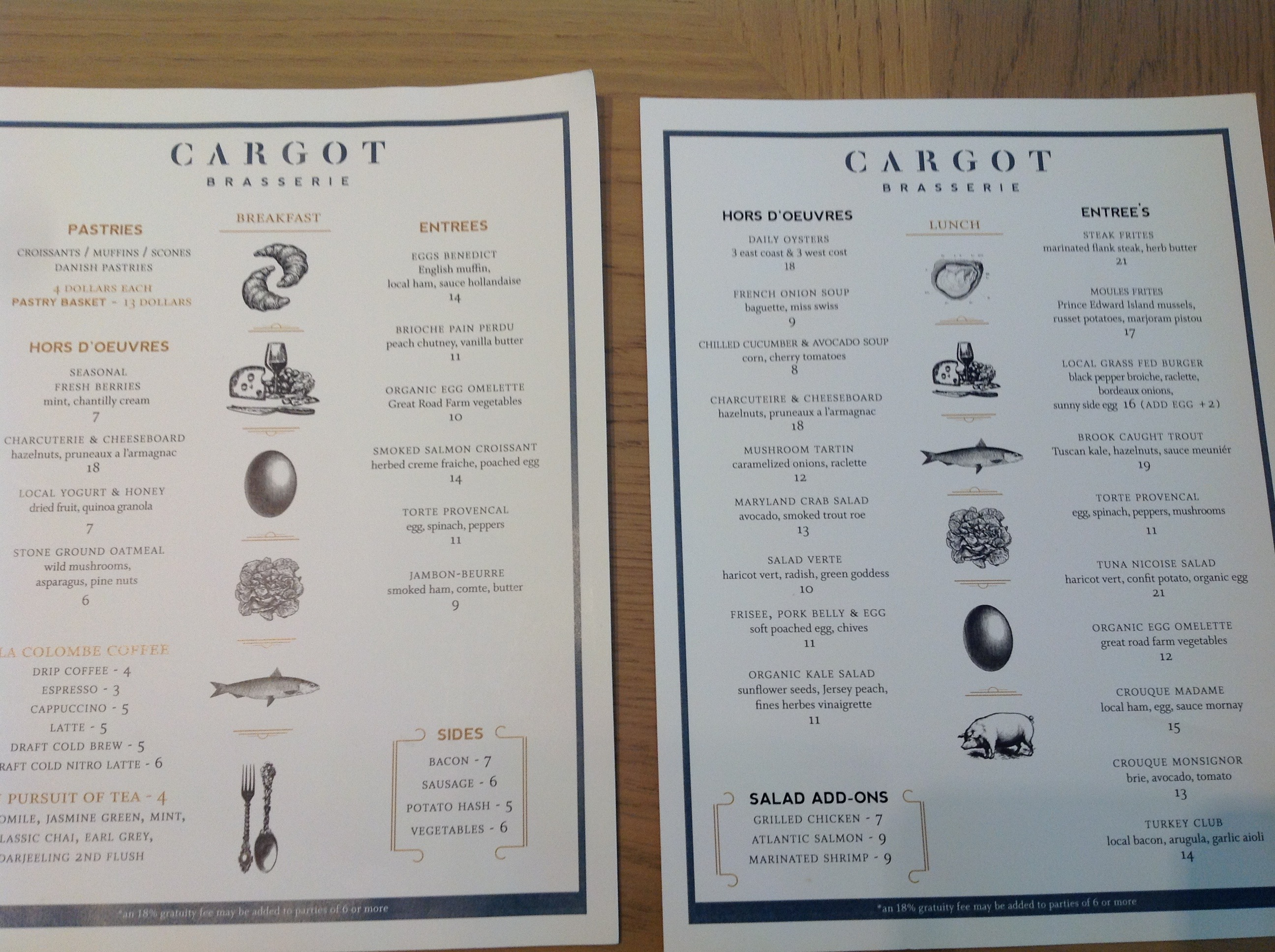 Cargot Brasserie' Opens At Former Princeton Rail Station (Photos
